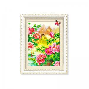 Cheap Flowers And Plants 5D Images Lenticular Art Prints For Restaurant Decor wholesale
