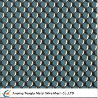 Cheap Expanded Metal Round Mesh  1000x2000mm Panel wholesale