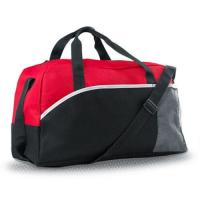 Cheap Large Black Travel Duffle Bags Carry On Luggage , Men's Weekend Travel Bag wholesale