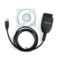 Cheap HEX USB CAN Vag Com 15.7 VCDS 15.7 With Vag - Com 15.7 Interface wholesale