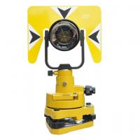 Cheap Industrial Total Station Prism Yellow Color 64MM Effective Diameter wholesale