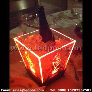 Cheap Ledpos Burn Energy Drink Ice Bucket for sale