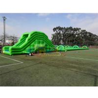Cheap CE Outdoor Inflatable Water Slides 1000ft Long City Inflatable Slip And Slide For Adults wholesale