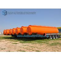 Cheap High Capacity International Goose Neck Oil Tank Trailer 45000L 3 Axle wholesale