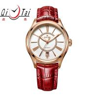 China Fashion Ladies Mechnical Watch water proof Full Automatic mechanical Geuine leather starp on sale
