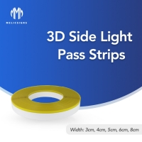 Cheap No Metal Marquee Letter Bottom Side Pass Light Strip For 26 Letter Advertising Signs wholesale