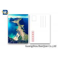 China Souvenir Tourist Gifts Custom Lenticular Postcards Norway Landscape Painting on sale