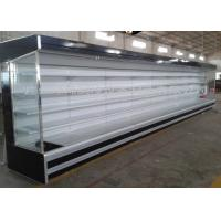 Cheap Large hypermarket commercial refrigerators Chiller With Multideck Showcase / Meat Counter wholesale