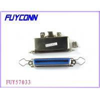 Cheap 36 Pin Female Centronic Solder Connector with 180°Matel Hood Certified UL wholesale