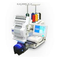 Cheap Commercial Single Head Computer Embroidery Machine For Cap / T - Shirt / Flat Embroidery wholesale