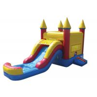 Cheap Giant Outdoor Games Inflatable Bouncer Combo Bouncer House With Slide Waterproof wholesale