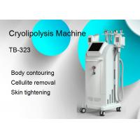 Buy cheap 1800W 5 Treatment Handles Cryolipolysis Slimming Machine / Body Contouring from wholesalers
