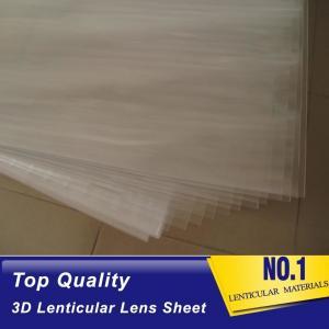 Cheap buy lenticular polypropylene sheet 75lpi PP 3d animation flip lenticular plastic lens materials for sale Djibouti wholesale