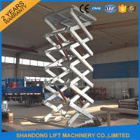 Buy cheap Hot Galvanizing Fixed Hydraulic Cargo Lift from wholesalers
