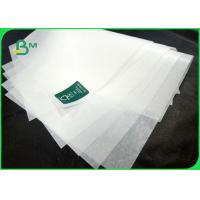 China 7 grade 31g High temperature resistance greaseproof paper for sandwich wrapping on sale
