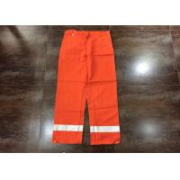Cheap Orange Flame Resistant High Visibility Clothing For Men Heat Insulated wholesale
