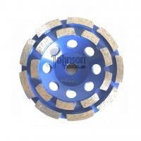 Buy cheap Double Row Diamond Grinding Wheel For Fast Grinding Mid Hard Concrete from wholesalers