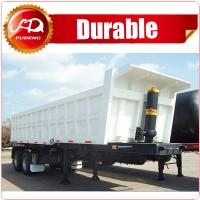 Cheap China Best Quality Tipper Cargo Truck 3 Axle Dump Semi Trailer For Export Sale wholesale