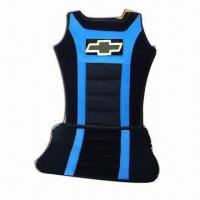 Cheap Automobile Seat Cushions, Made of Polyester and Polyurethane, Customized Logos/Designs are Accepted wholesale