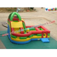 Cheap Waterproof Inflatable Bouncer Slide PVC Tarpaulin For Kids With Strong Handles wholesale