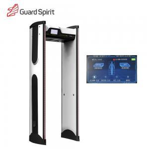 Buy cheap Color Screen Waterproof Walk Through Metal Detector / Security Metal Detector Gate For Hotel from wholesalers