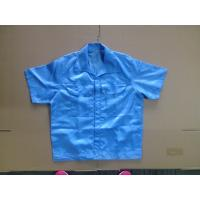 Cheap Unisex Design Cleanroom Lint Free ESD Polyester Working Shirt wholesale