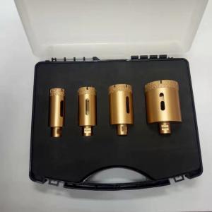 Cheap M14 4pcs 72MM Mixed Dry Porcelain Core Drill Bits Zero Vibration wholesale