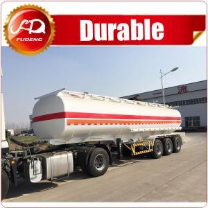 Cheap 6 compartments 45000L FUWA axle fuel tanker trailer oil tank semi trailer wholesale