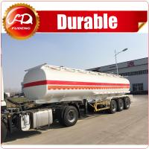 Cheap 6 compartments 45000L oil tank fuel tanker semi trailer in stock for sale wholesale