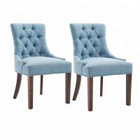 Cheap Luxury Modern Metal Legs Leather Dining Chair , Tufted Pure Leather Chairs Dining Room Modern wholesale