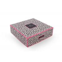 Cheap CMYK Cosmetic Box Packaging With Tray , Cosmetic Gift Boxes 600g To 1600g wholesale