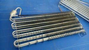Cheap 3.0MPA 38x33mm 6mm Pitch Aluminum Finned Evaporator wholesale