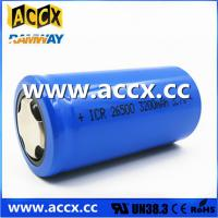 China rechargeable battery ICR26500 3.7V 3200mAh on sale