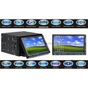 Cheap 2 DIN Car PC Car Computer with GPS Navigation wholesale