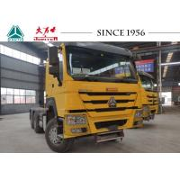 Buy cheap Top Brand SINOTRUK HOWO 6X4 Tractor Truck With 420 HP For Container Transport from wholesalers