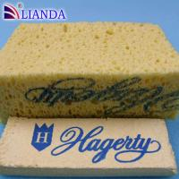 Cheap Wall Cleaning Cellulose Sponge Promotion 2MM Thickness 100 kg/ m³ wholesale