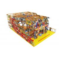 Cheap Childrens Indoor Soft Playground Equipment Anti - Static For Amusement Park wholesale