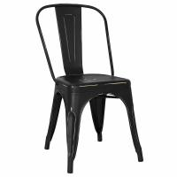 Cheap Kitchen Dining Metal Side Chair In Bronze Poly And Bark Trattoria Optional Colour wholesale
