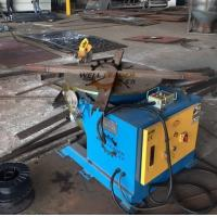 China Welding Positioner Type Pipe flange Rotating Welding Table With Slew Bearing Oil Free Gearbox on sale