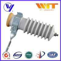 Cheap 51KV Power Station Porcelain Substation Surge Lightning Arrester High Reliability wholesale