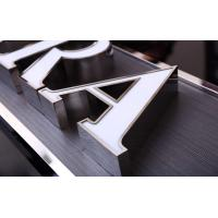 Cheap USA Style Illuminated Channel Letters , 3D Channel Letters CE ROHS Certificated wholesale