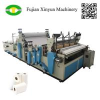 Cheap Full automatic rewinding kitchen towel paper making machine price wholesale