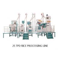 Cheap Small Complete Set Rice Mill with a capacity of 25 tons per day wholesale
