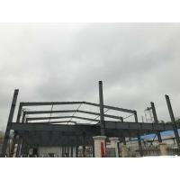 China Two Story Light Steel Structure Workshop Building Construction on sale