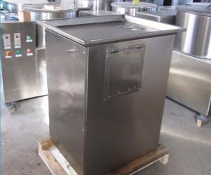 Cheap Thickness Adjustable 0.75kw 400kg/H Potato Cutting Machine wholesale