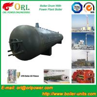 Cheap Customization Diesel Boiler Drum Thermal Insulation With Water Tube wholesale