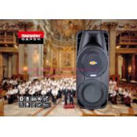 Cheap Double 15 Inch Battery Powered PA Speaker System Remote Control wholesale