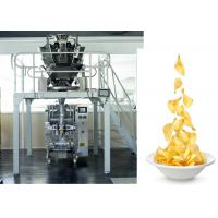 Cheap Chips /  Snacks / PE Sachet Packing Machine With Back Sealing , CE ISO ROHS wholesale