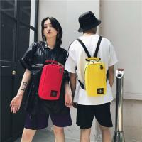 Buy cheap Ins fashion sports new ins color nameplate backpacks student bags handbags from wholesalers