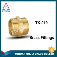 China High Pressure Forged Pipe Bushing Reducer Brass Coupling Fittings on sale